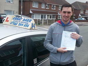Driving Lessons Great Barr